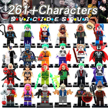 latest mini dolls single sale   suicide squad movie dc super heroes avengers batman block best children gift toys