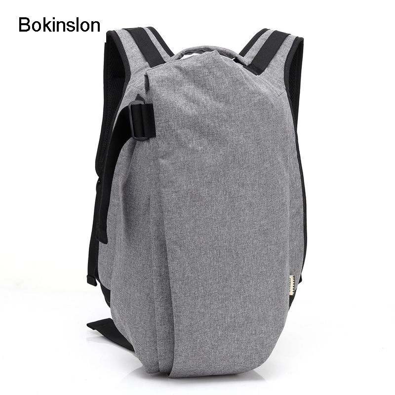 Man Backpack Practical Travel-Bags Oxford Fashion Casual Men Cr Foikvoon Creative Male