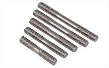 GB901 316 stainless steel screws double-headed screw rods studs M6 M8 M10 M12 Bolts double-headed screws teeth