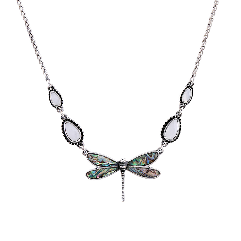 JOOLIM Jewelry Wholesale/2017 Dragon Fly Pendant Necklace Design Jewelry Fashion Accssories