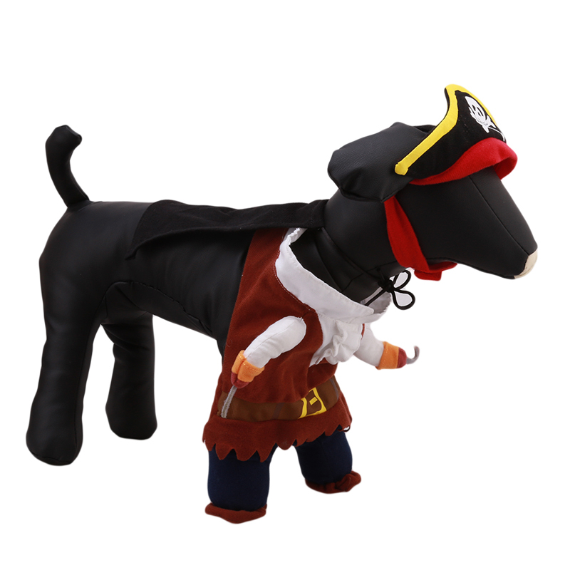 aliexpresscom buy cute pet dog clothes costumes pirate morph suit puppy halloween apparel sweaters doggy clothing ma874285 from reliable puppy clothing - Clothes Halloween