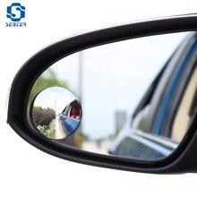 SEBTER 360 Широкий формат круглый Выпуклое зеркало автомобиля сбоку Blindspot Blind Spot Mirror широкий зеркало заднего вида малых круглое зеркало