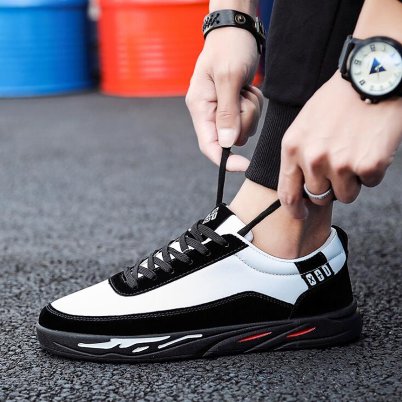 New Arrival Spring Summer Comfortable Casual Shoes Mens Canvas Shoes For Men Lace-Up Brand Fashion Flat Loafers Shoe yx014 4