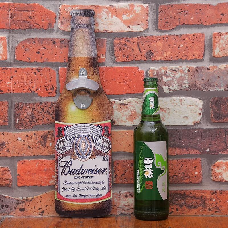 Amerikaanse Eroupean Vintage stijl bier vormige muur flesopener - Keuken, eetkamer en bar - Foto 5