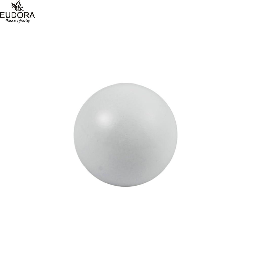10PCS White Pregnancy Ball Eudora Harmony Ball 12mm/14mm/16mm/18mm/20mm Baby Caller Mexi ...