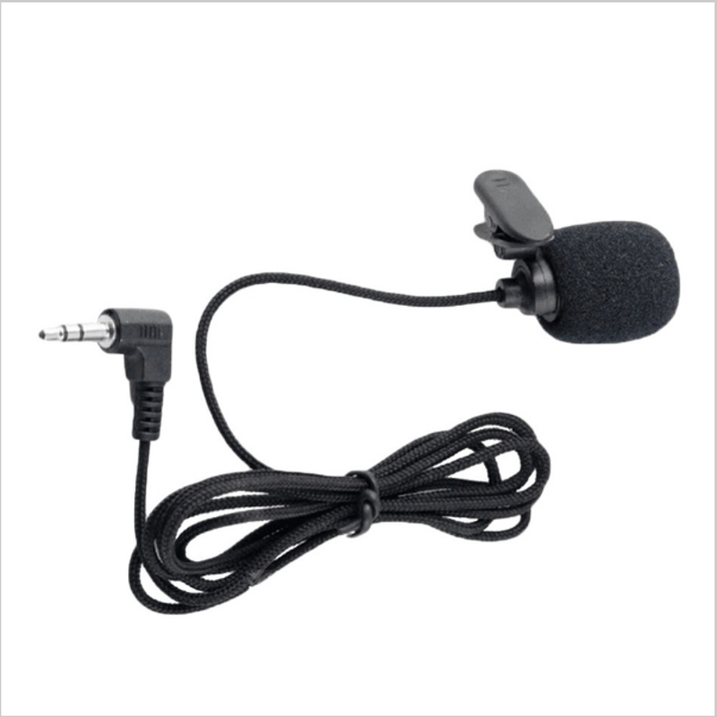 1.5M 3.5mm Hands Clip On Mini Mic Microphone Studio Speech Lecture Microphone Computer PC Notebook Laptop For MSN Skype Etc