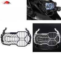 CNC Motorcycle Headlight Guard Protector Cover For BMW R1200GS R 1200 R1200 GS LC Adventure 2013
