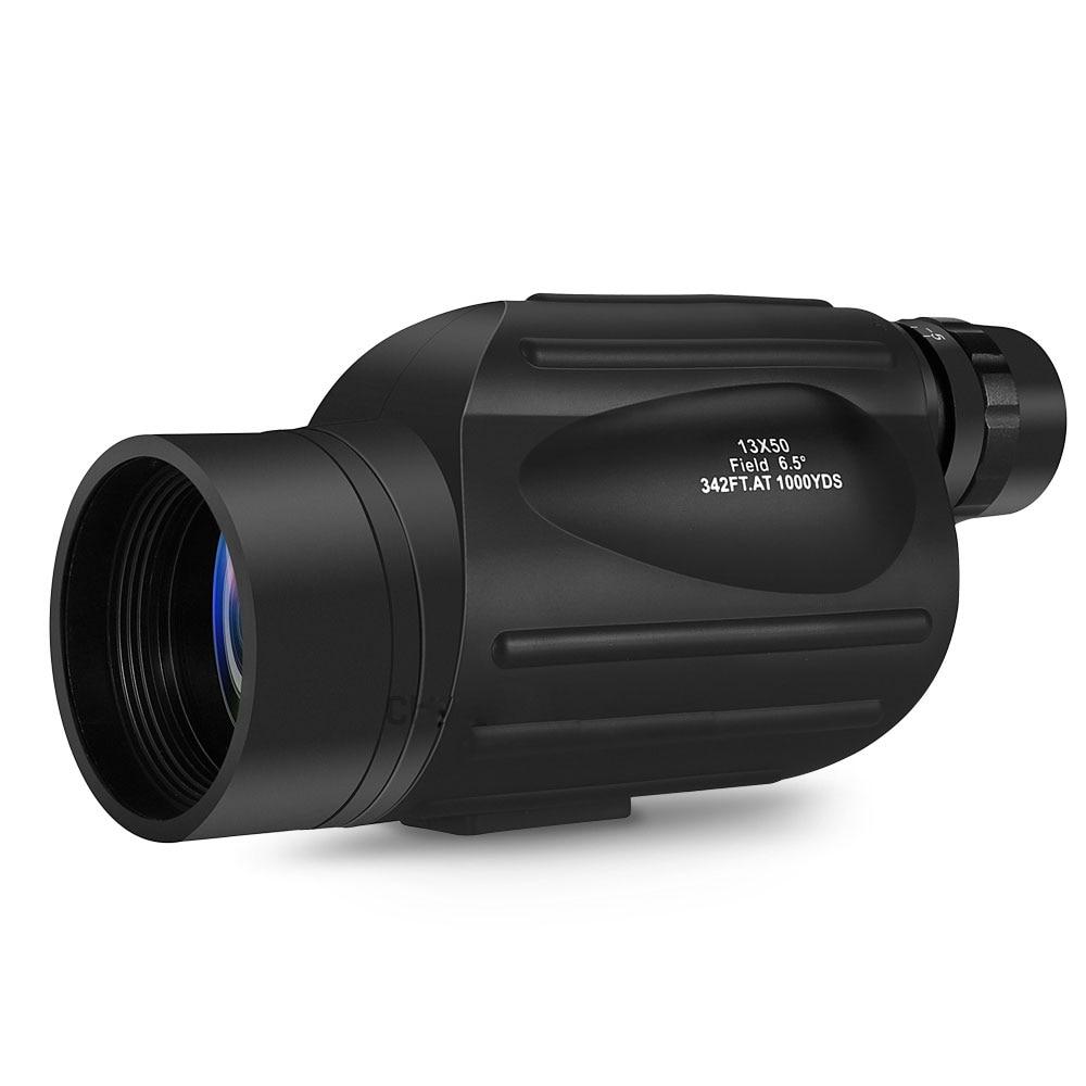 GOMU 13X50 monocular high quality HD 114M 1000M FOV outdoor telescope birdwatching fishing and hunting waterproof