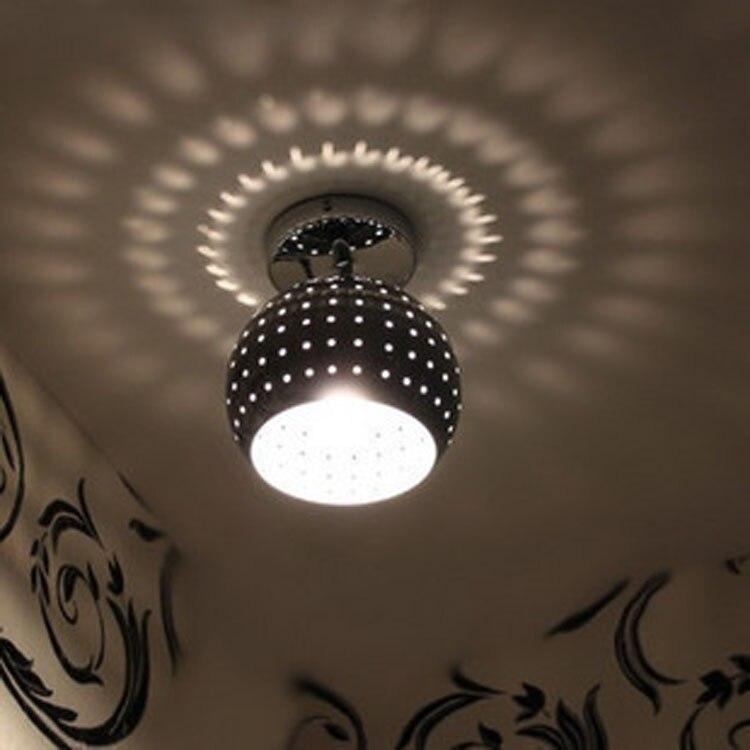 ФОТО Modern minimalist living room bedroom corridor entrance corridor balcony ceiling lamps ball porous creative personality aestheti