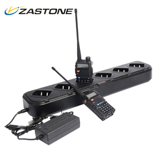 Zastone Charger For Walkie Talkie Baofeng UV5R Six Way Charger for Baofeng UV-5R High Quality Accessories Handheld Radio Charger
