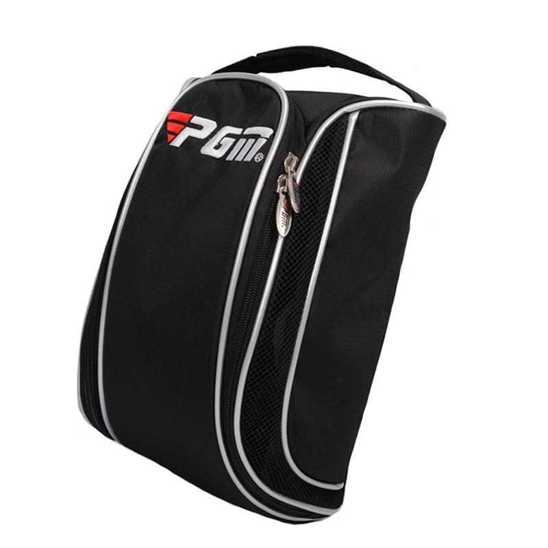 2018 PGM Golf Shoes Bag Black Nylon PU Shoes Package Waterproof Outdoor Sports Shoes Bags High-grade Golf Shoes Package