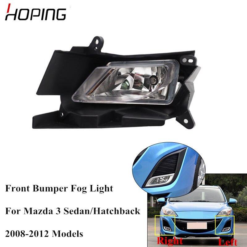 For Mazda 6 Series 2008-2012 Front Fog Light H11 Xenon Headlight Bulbs Pair Lamp
