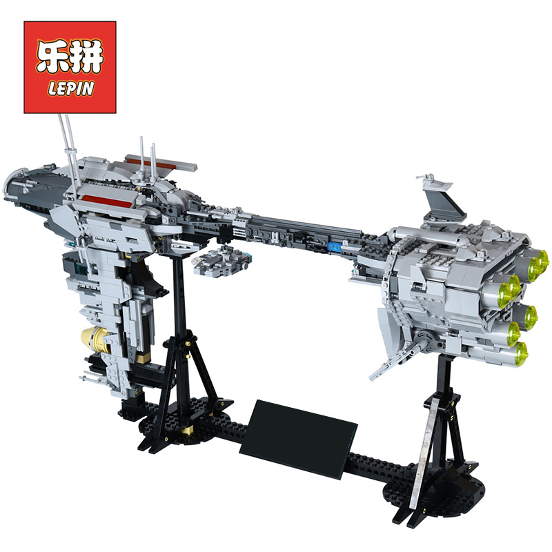 Lepin 05083 Star Series War MOC UCS the Nebulon Set B Model Medical Frigate Star Children Fighter Building Blocks Bricks Toys lepin 05077 stars series war the ucs rupblic set star destroyer model cruiser st04 diy building kits blocks bricks children toys