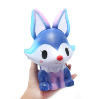 Hot Sale SquishyShop Fox Jumbo 21cm For Soft For Squishy Slow Rising Large Size Kids Stress