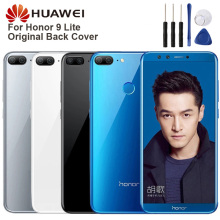 Huawei Original Back Battery Cover Housing For Honor 9 lite Rear Glass Case