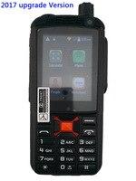 SIM card walkie talkie 3G Waterproof SOS Upgrade F22 Plus Android WCDMA GPS Network Smart walkie talkie mobile phone