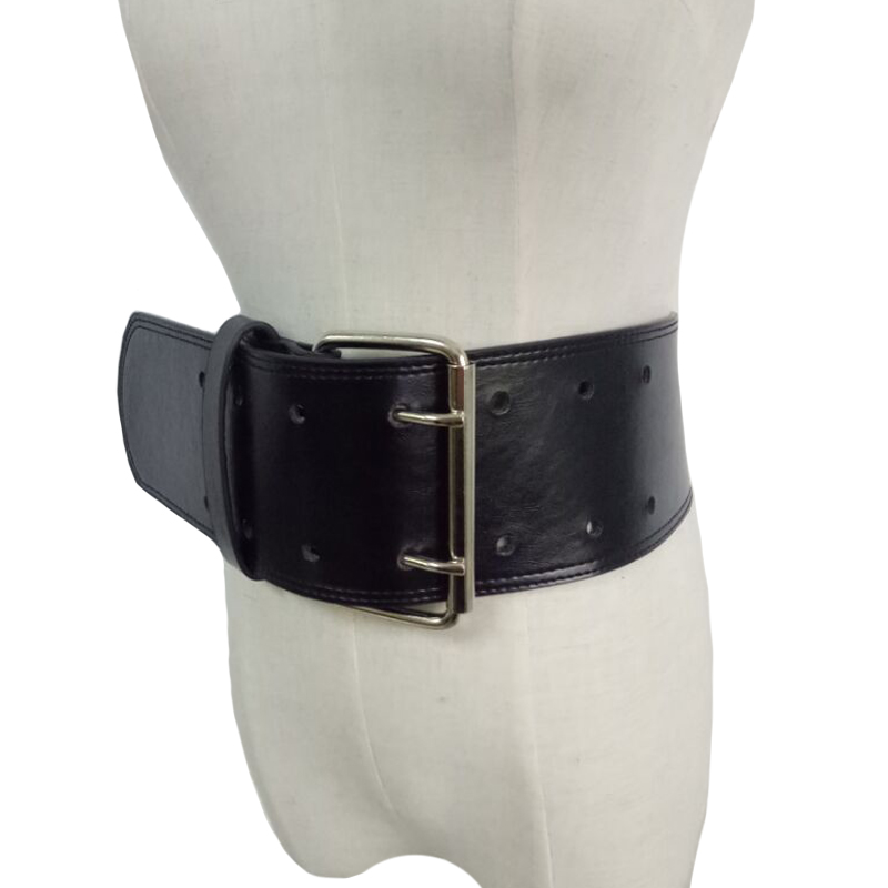 2019 Female Women Vintage leather Belt Waistband brand Straps Thin waist wide PU Leather big Metal Buckle Waist Belt Accessories