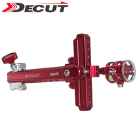 DECUT 1 pin Compound Boog Zicht Aluminium Jacht Schieten Mini Boog Zicht Boog Doel Punt Accessoire Boog & Pijl    -