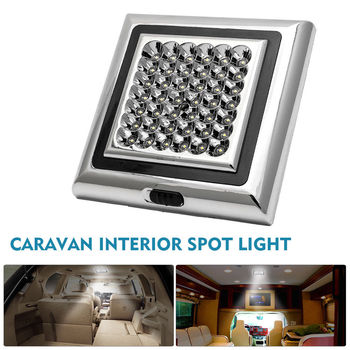 Car caravan camping 42 LED Interior Roof Ceiling Interior Lamp Dome Light DC 12V Cabinet Lamp For Camper RV Trailer Boat Van