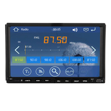 3D Video System Autoradio Sub Music SD MAP Radio Player RDS MP3 BT Double Din Stereo Navigator HeadUnit GPS Car DVD