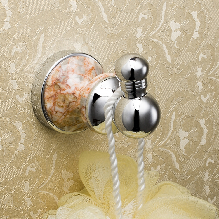 Free shipping luxury fashion chrome plating brass marble - Chrome plated brass bathroom accessories ...