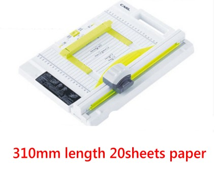 2018 new Manual rotary paper cutter trimmer 310mm 20sheets Paper cutting and perforating double function NEW design new discount portable 48 inches 1200mm manual rotary professional paper pvc cutter trimmer sg 1200 roller paper cutter 8sheets
