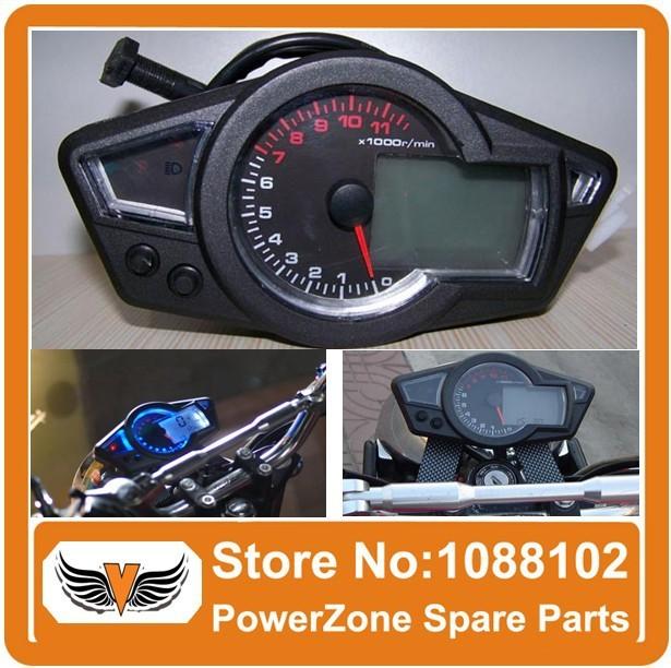 "Top Quality Performance KOSO LCD Universal Digital Odometer Speedometer Tachometer Motorcycle Blue Backlight 10"" to 21"" Wheel"