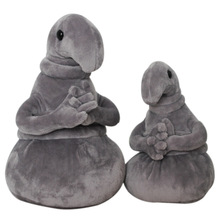 20 30cm Waiting Plush Toys font b Zhdun b font Meme Tubby Gray Blob Plush Dolls