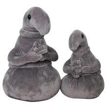 20cm Waiting Plush Toys Zhdun Meme Tubby Gray Blob Plush Dolls Homunculus Loxodontus Kids Gifts
