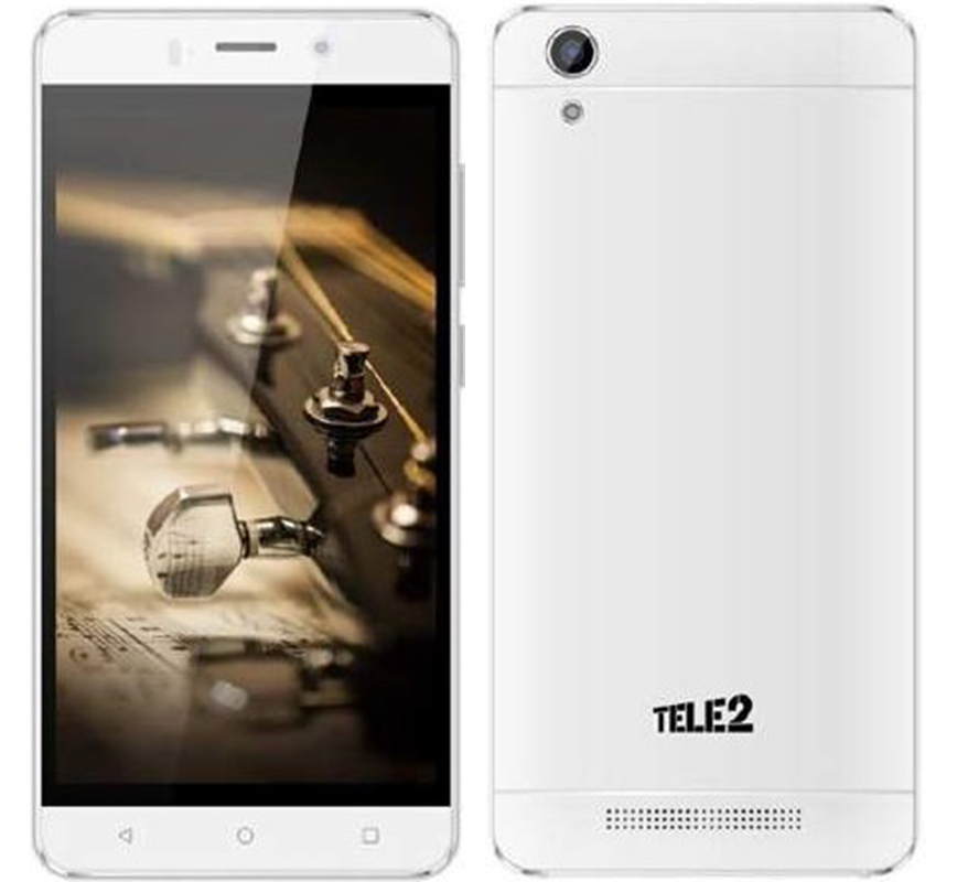 2PCS Ultra-thin Tempered Glass for Tele2 Maxi LTE smartphone mobile Scr