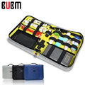 BUBM Portable  Hard Drive Case black blue gray pouch case Electronics Accessories Travel Organizer Digital Storage bag