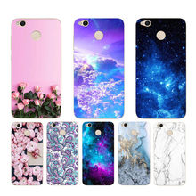 "CROWNPRO Cute Funda For Xiaomi Redmi 4X Case Soft Silicone 4 X Back Cover For Xiaomi Redmi 4X 5.0"" Painting TPU Case For Redmi4x(China)"