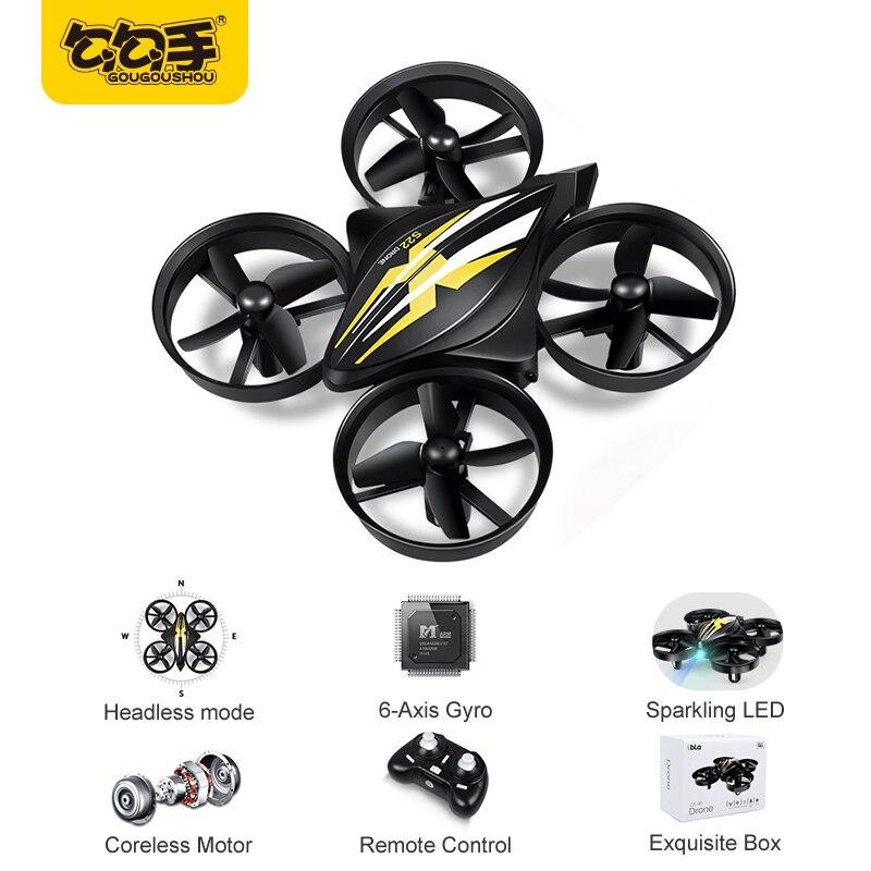 GouGouShou CX-95 Mini Drone RC Drone Quadcopter Modalità Senza Testa di Un Tasto di Ritorno RC Helicopter VS JJRC H36 Bambini Best Giocattoli per I Ragazzi