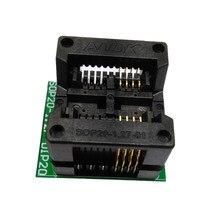 Prise de programmation SOP8 SOIC8 SO8, pas de broche 1.27mm, corps IC largeur 5.4mm 209mil, adaptateur de prise de Test programmeur