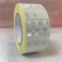 25mm x 5 m Sicherheit Mark Reflektierende Band Aufkleber Auto-Styling Selbst Klebe Warnband Automobile Motorrad Reflektierende material