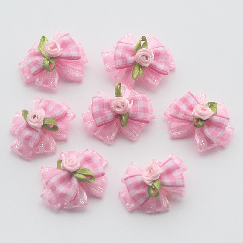 50 Pcs/100 Pcs Handmade Dogs Accessories Minimalist Style Ribbon Dog Bow GroomingBows For Dogs 6029018 Small Pet Supplies