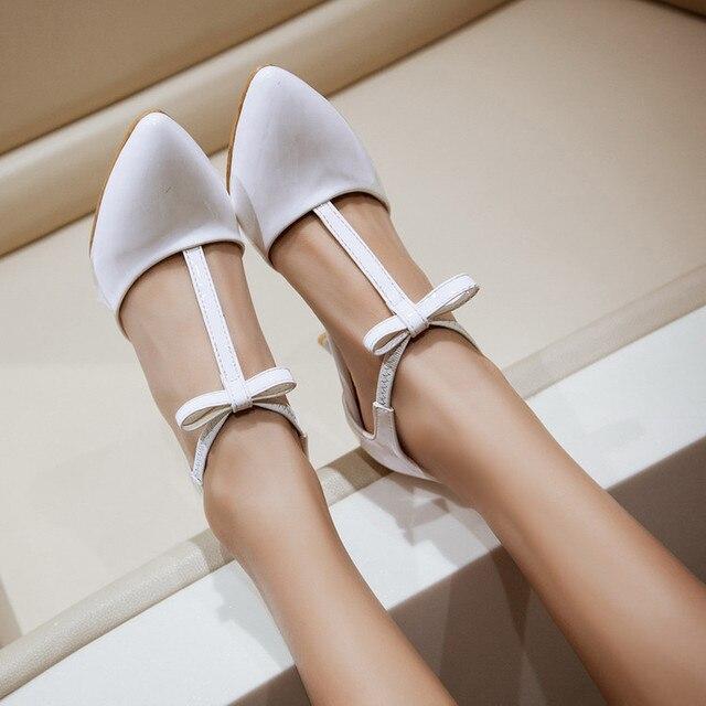 2017 Новое Прибытие Продажа Женская Обувь Женщин Высоких Пяток Женщин Насосы Sapato Chaussure Femme Zapatos Mujer Tacon Валентина 9001