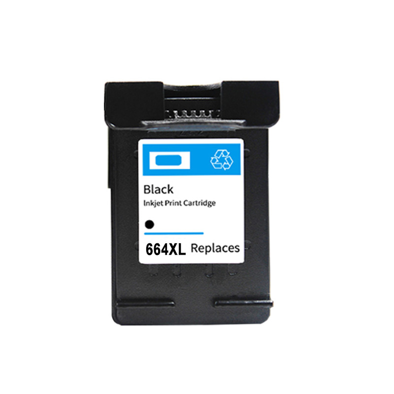 Color, 1 Pack ZET Remanufactured Ink Cartridge Replacement for HP 664 XL 664XL Used in DeskJet 1115 2136 3636 3836 4536 4676 Printer