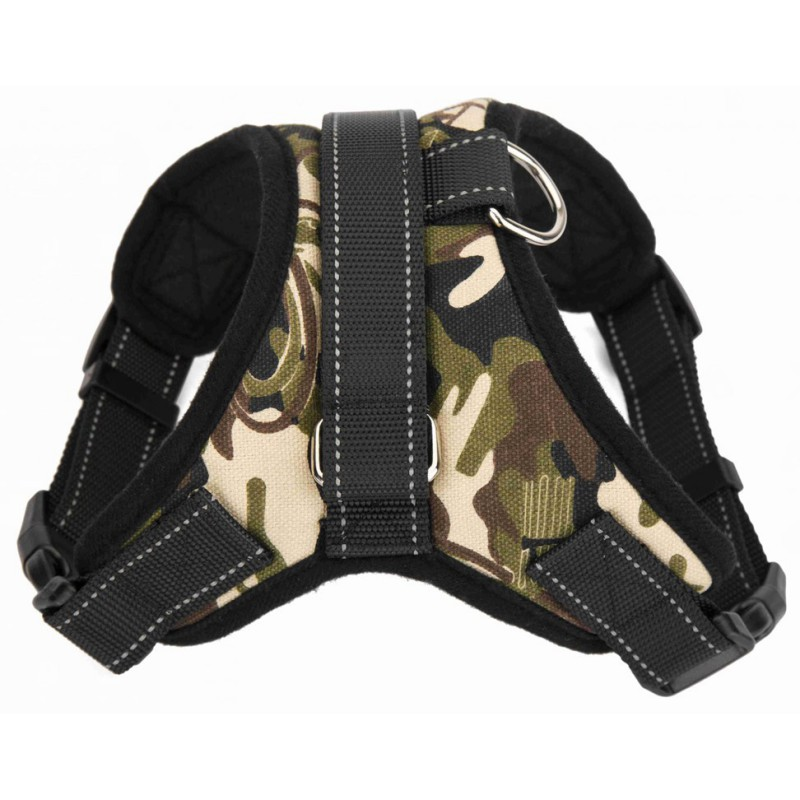 Soft Adjustable Dog Harness Vest Collar Big Dog Rope Collar Hand Strap Pet Traction Rope for Small Medium Large Dogs