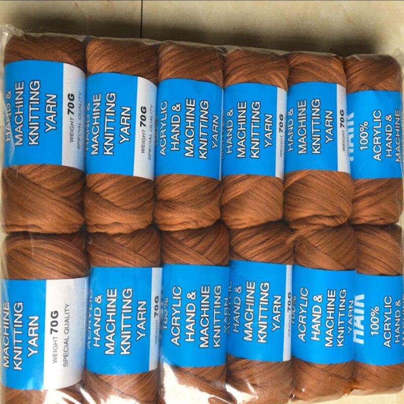 free shipping 14bundles 70g per bundle Brazilian wool hair low temprature flame retardant synthetic fiber for