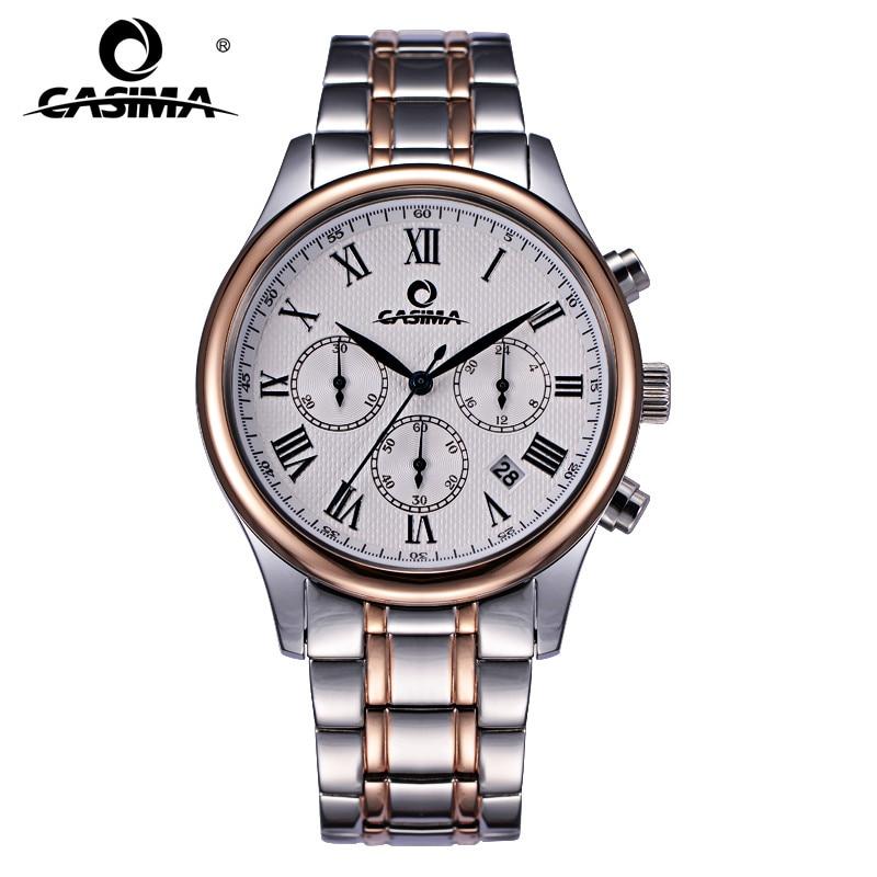 2016 encanto de los hombres del ocio del vestido de cuarzo reloj de pulsera impermeable relojes de marca de lujo hombres casima #5118