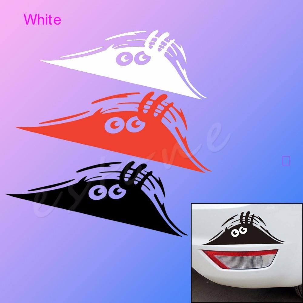 Car decals and graphics design - Cute Peeking Monster Design Sticker Auto Car Walls Windows Graphic Car Decals China Mainland