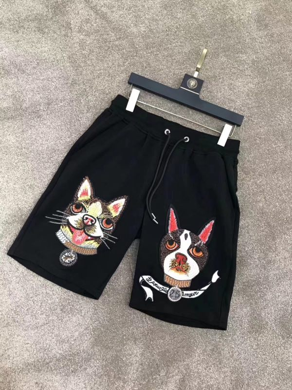 WXD04152BA Great Sale Luxury Europe Designer 2018 Closet Casual Shorts Famous Brands Europe Designer Men's Clothing