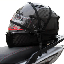 60CM Motorcycle Strength Retractable Helmet Luggage Rope Bungee Cord Bandage Strapping Tape Elastic Strap Net Cable