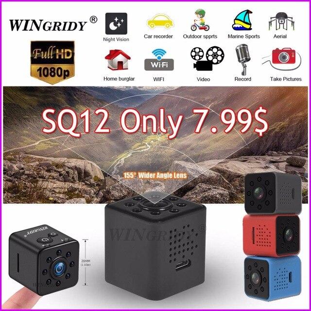 Original Mini Câmera WI-FI Câmera SQ13 SQ23 SQ11 SQ12 shell Sensor CMOS FULL HD 1080 P Waterproof Night Vision Gravador camcorder