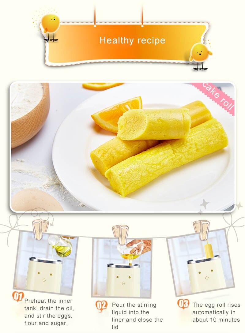 Omelete Dupla Fabricante de rolo de Ovo