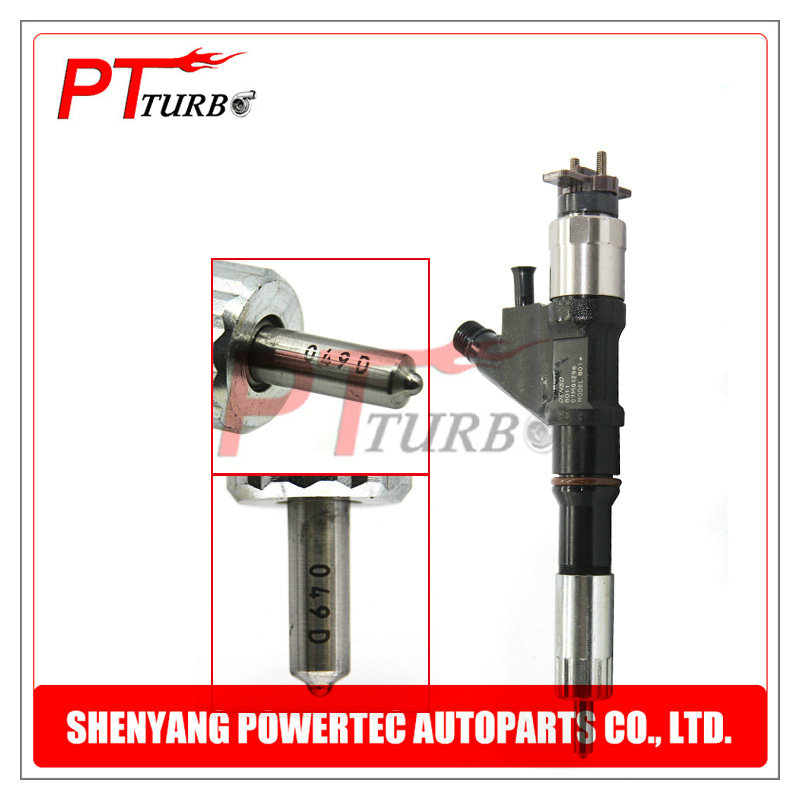 Injection 095000 8871 Fuel Parts Inyector Nozzle 295040 6780 Common Rail Diesel Injectors 095000 8011 for SINO TRUCK Heavy Truck