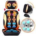 Cervical dispositivo de massagem multifuncional travesseiro de pescoço almofada de massagem casa-de corpo inteiro massagem almofada 110-240 V