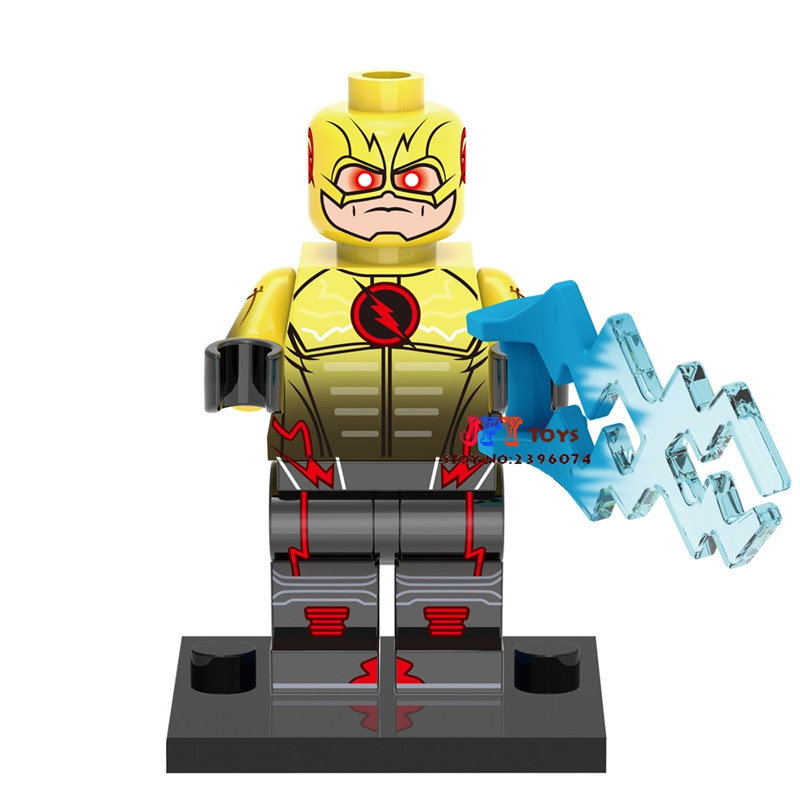 Single Sale star wars superhero marvel Reverse Flash building blocks model bricks toys for children brinquedos menino single sale aquaman reverse flash parademon green lantern booster gold power girl katana building blocks toys for children x0177
