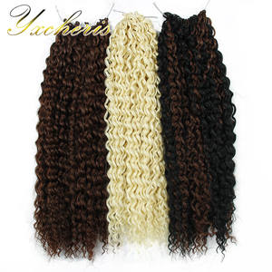 Marly-Hair Hair-Extensions Braids Blond Crochet Hair-Synthetic Afro Black Ombre 18inch